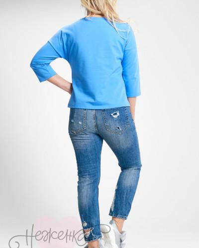 Туника Т 364 (голубой)