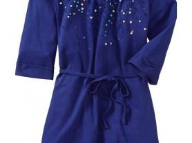 Синее платье Old Navy на 7-8лет, новое