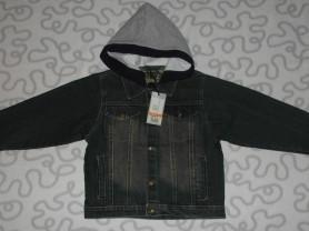 Новая куртка джинсовая Kaubamaja, 110-116 см