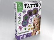 Набор временных татуировок PARTY