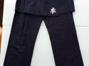 Стильная Юбочка-брюки темно-синего цвета р. XS