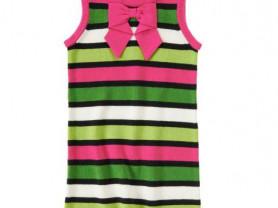 Полосатое платье Crazy8 на 7-8лет