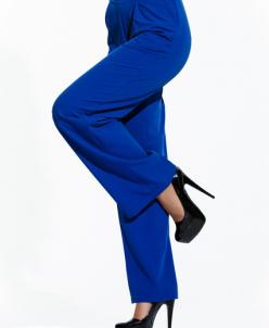 Женские брюки Лира электрик