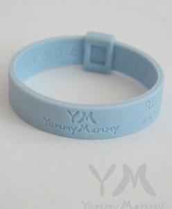 Молочный браслет (голубой)