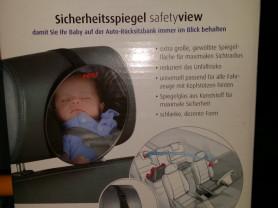 Автозеркало для контроля за детьми