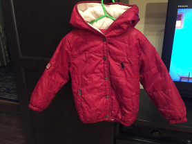 куртка на девочку, осень