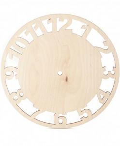 Заготовка деревянная арт.БН.120.2.4 Циферблат d=200 мм