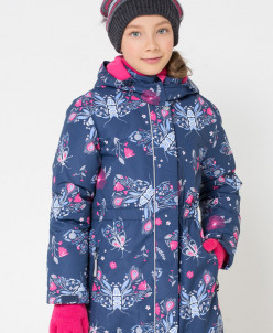 куртка зимняя для девочки Крокид Crockid зима 19-20