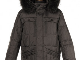 Куртка новая с енотом, 48,50,54,56,60 р-ры