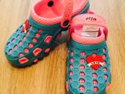 Удобные яркие стильные тапочки сабо crocs кроксы
