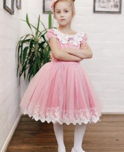 """Платье для девочки """"Орхидея"""""""