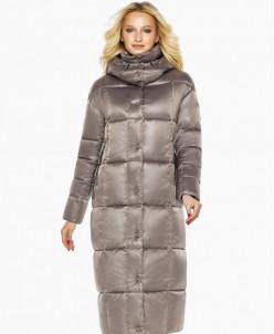 Воздуховик женский удобного фасона зимний цвет кварцевый мод