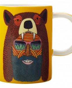 Кружка Человек-медведь в подарочной упаковке Maxwell & Willi
