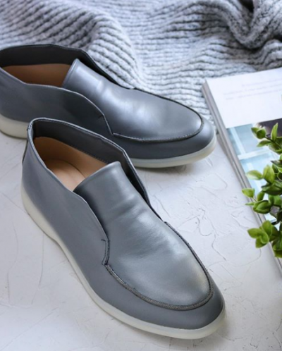 """Кожаные ботинки в стиле """"Open Walk"""". Collection AW 20/21"""