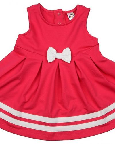 Платье с бантом (98-116см)