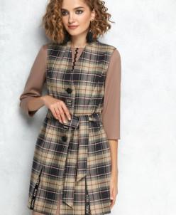 жилет, платье Gizart Артикул: 7128б1