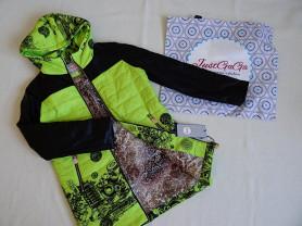 Новая яркая куртка полупальто 44-46-48 весна осень