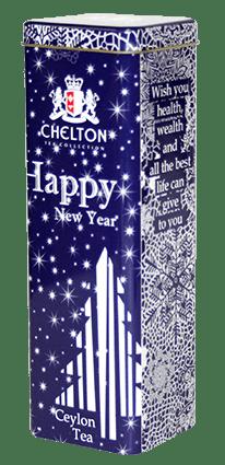 """Чай Челтон """"Счастливого Нового года"""" 80гр. ж/б"""