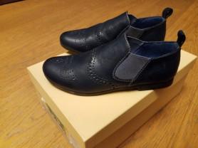 Шикарные новые туфли баретки р. 30-19,5 см Италия
