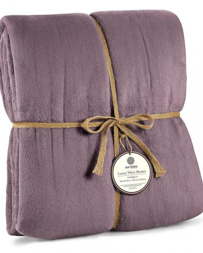 Velvet Fleece Blanket  167 x 228