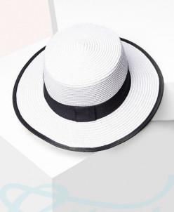 Классическая соломенная шляпа Gepur