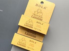 Бальзам для губ с ланолином 4, 3 гр, HOLA