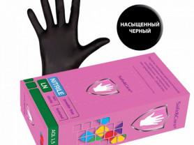 перчатки нитриловые safe&care 100 штук