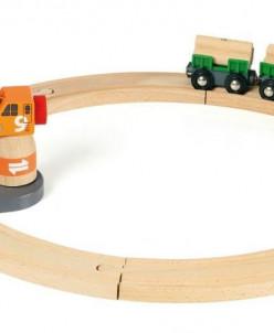 Товарный поезд с подъемным краном BRIO (БРИО) 33162