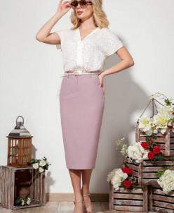 блуза, юбка Dilana VIP Артикул: 1527/1