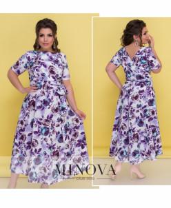 Платье №18-22-Синий
