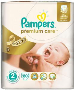 Подгузники Pampers Premium Care 2  80 штук