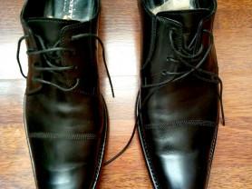 стильные мужские классические туфли Италия