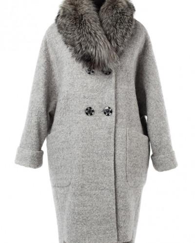 02-2554 Пальто женское утепленное