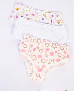 Трусы плавки детские для девочки (кулирка)