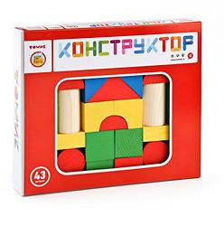 Конструктор 43 детали Томик