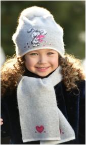 ЛЮБИМЧИК комплект (шапка, шарф)