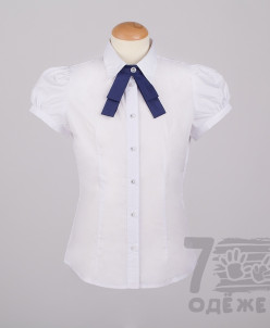 Блузка для девочки рукав короткий. Скидки!