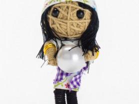 Мадам Криста - кукла, талисман, ручная работа