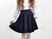 Школьная юбка OLMI + рубашка