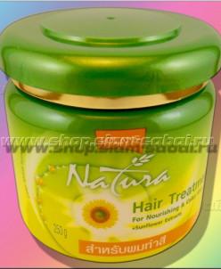 Маска для защиты цвета окрашенных волос Lolane с подсолнечни