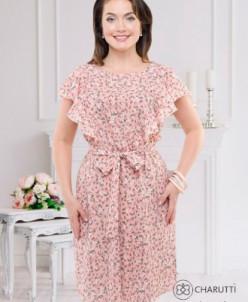 Платье Алые паруса (кокетка)