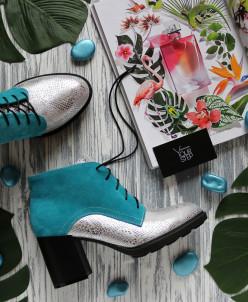Удобные яркие ботинки. New collection
