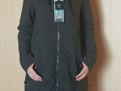 Новая утепленная парка куртка хаки 42 44 46 48