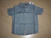 Льняная рубашка Next размер 5-6 yrs
