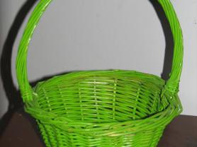 зеленая корзинка