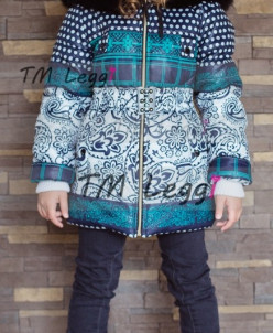 Детская удлиненная куртка