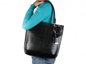 Новая черная сумка кожа Gaude Италия