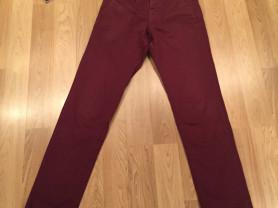 Классические мужские бордовые брюки Massimo Dutti (оригинал)