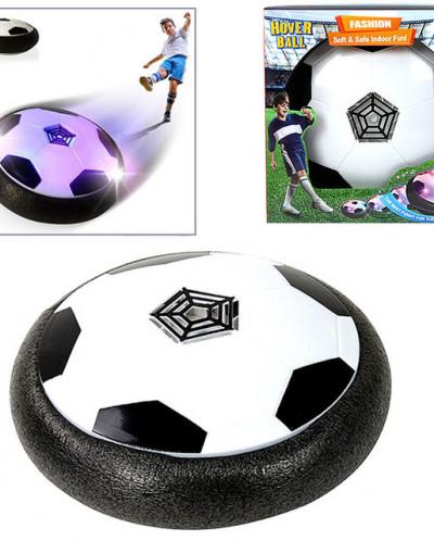 Футбольный мяч для игры в доме/квартире светящийся