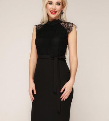 Платье 304/1 черный